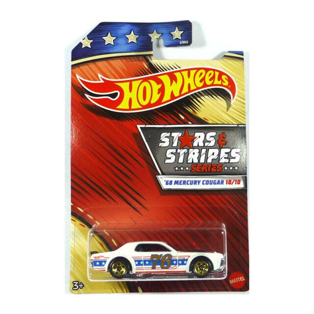 Stars /& Stripes Series Set 10 Modellautos USA 1:64 Hot Wheels GJW63-979B