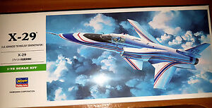 Grumman-X-29-Advanced-Technology-Demonstrator-Hasegawa-Kit-1-72-B13-Nuovo