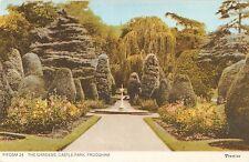 B103452 the gardens castle park frodsham    uk