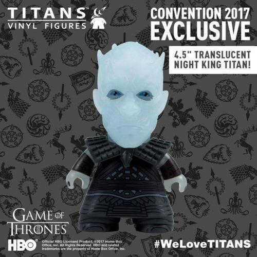 SDCC 2017 TITAN Exclusive Game of Thrones 4.5″ Night King w  Window-Display Box