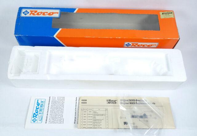 ROCO LEERKARTON 43220 Dampflok BR 57 2147 Leerverpackung OVP empty box H0 43223