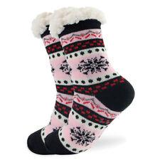 ae8d1b7a6f4 item 1 Women Thicken Knit Sherpa Lined Thermal Fuzzy Slipper Christmas Sock  -Women Thicken Knit Sherpa Lined Thermal Fuzzy Slipper Christmas Sock