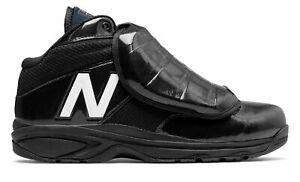 New Balance Men's 460v3 Umpire Baseball Shoes Black with White