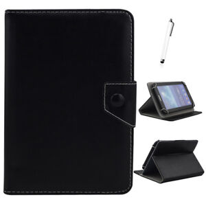US-For-7-034-8-034-10-034-10-1-034-Tablets-Universal-Folded-Leather-Case-Stand-Cover-Black