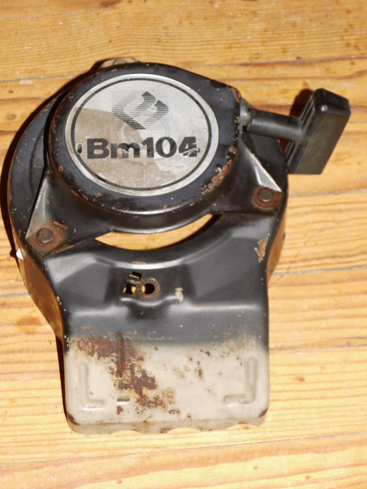 Lanceur moteur bernard tondeuse BM104 + volute