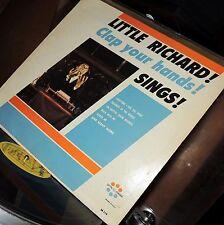 LITTLE RICHARD VINYL little richard sings LP SCARCE Gospel CLAP YOUR HANDS