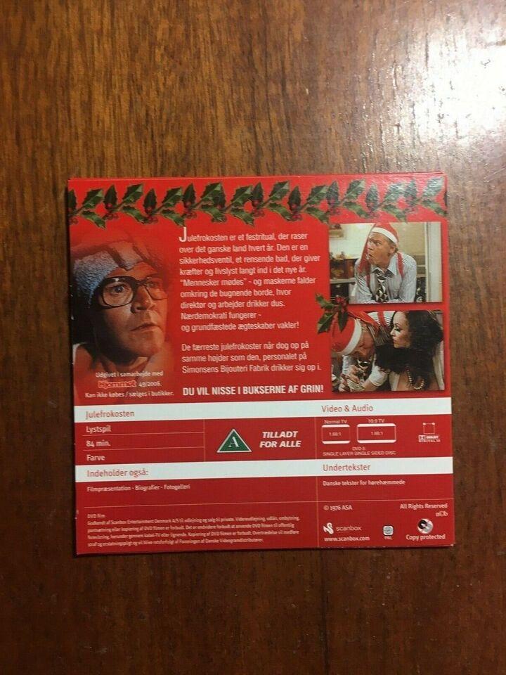 Julefrokosten, instruktør ...., DVD