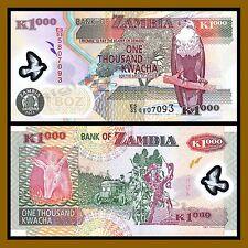 ZAMBIA 1000  KWACHA  2005 Polymer P 44d   Uncirculated