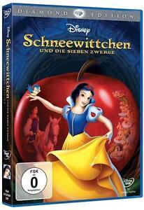 Schneewittchen-und-die-7-Zwerge-Diamond-Edition-Neu-DVD-Disney
