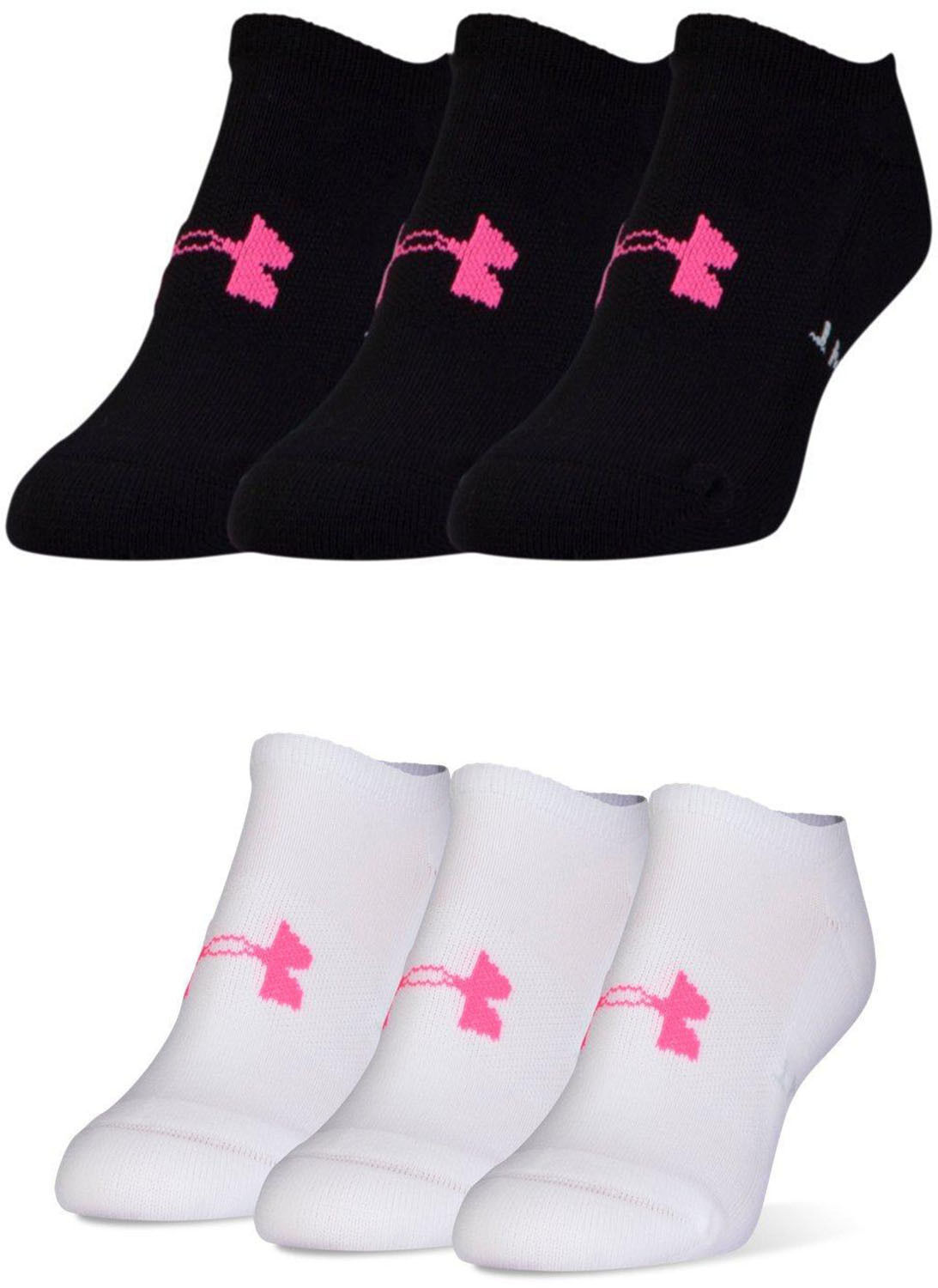 a8e1c675e Details about Under Armour Womens Athletic Solo Socks, 3 Pairs, 2 Colors