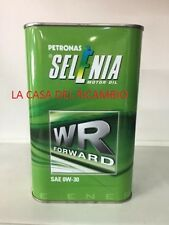 OLIO MOTORE ORIGINALE PETRONAS SELENIA WR FORWARD 0W30 (MOTORI EURO 6)