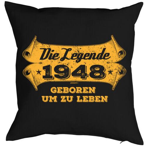 71 Geburtstag Kissen 71 Geb lustiges Sprüche Kissen 71 Jahre Jahrgang 1948