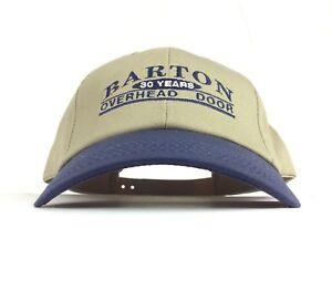 Attirant Image Is Loading BARTON Overhead Doors 30 Years Baseball Cap Hat