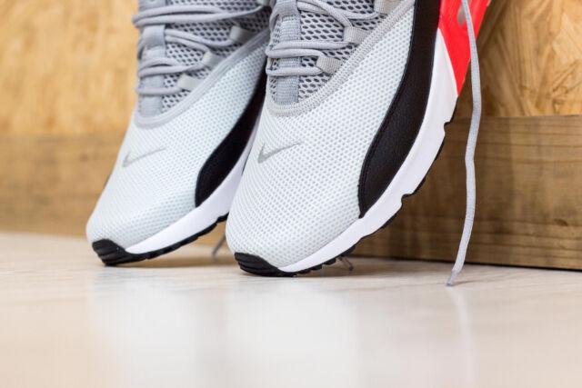 Nike Air Max 90 EZ Grey Black Infrared Red Men Running Shoes Sneakers AO1745 -002 ea2e2866b