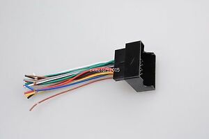 for bmw vw dodge audi benz car radio stereo player wire harness