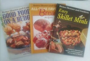 Details about Vintage Better Homes & Gardens Cookbooks Hard Cover 1970s Lot  of 3 Budget Bread