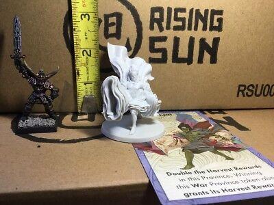 Kami Fujin Wind God Japanese Samurai Mini 32mm Rising Sun D/&d Dnd Bushido KS