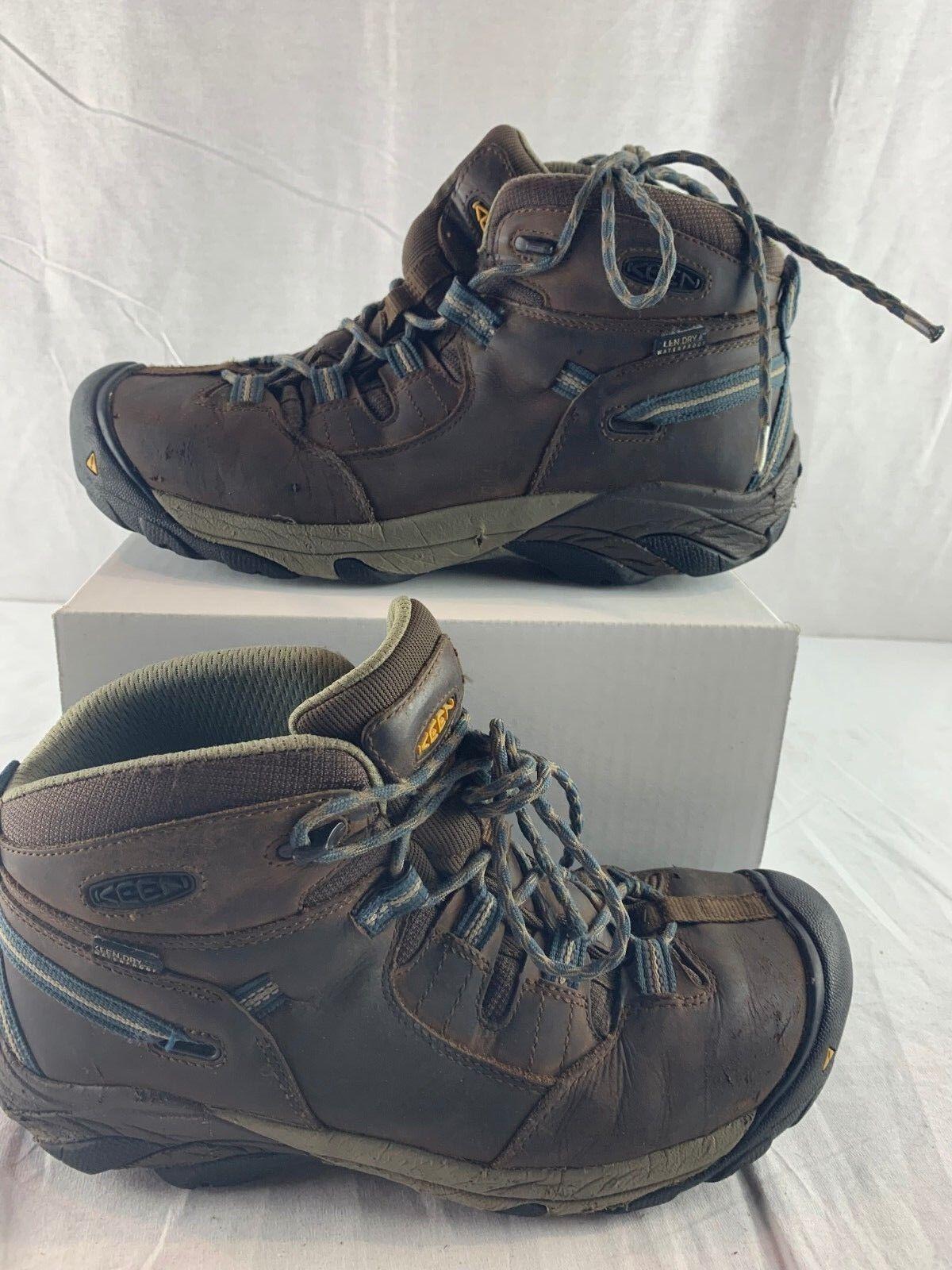 KEEN Utility Men's Detroit Mid Steel Toe Work Boot 1007004  Size- 9.5 D