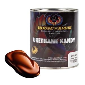 House of Kolor UK07 Root Beer Kosmic Kolor Urethane Kandy Auto Paint 1 Quart