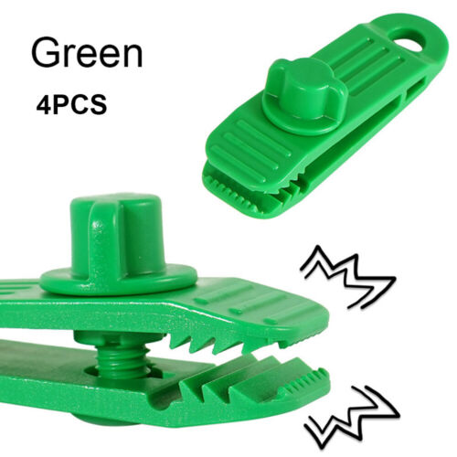 Jaw Grip Camping Tent Holder Windproof Clip Hook Canvas Tighten tool Tarp Clips