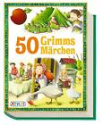 50 Grimms Märchen von Jacob Grimm und Wilhelm Grimm (2015, Taschenbuch)