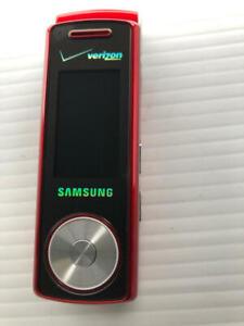Samsung Juke SCH-U470 Red - Fast Shipping!