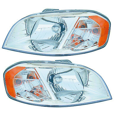 07-10 CHEVROLET AVEO 4D HEADLIGHTS FRONT LAMPS PAIR SET