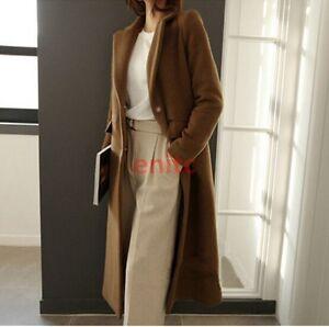 Long-Slim-Fit-Wool-Blend-Full-Length-Korean-Women-Parka-Coat-Trench-Outwear-En79