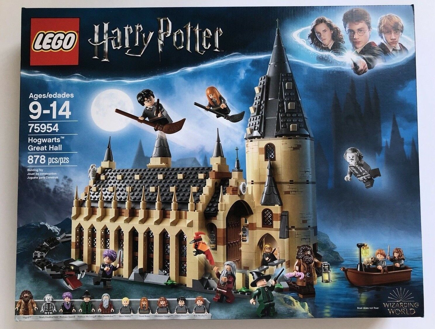 2018 LEGO-HARRY POTTER WIZARDING WORLD HOGWARTS GREAT HALL 75954  IN HAND NOW