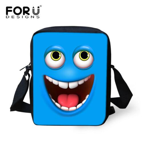 Cute Emoji Shoulder Bag Small Messenger Cross Body Bag Casual Handbag Purse NEW