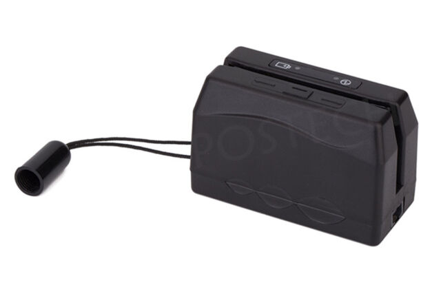 Wireless Portable Magnetic Swipe Card Reader Mini300 dx3 Come with mini 123 ex
