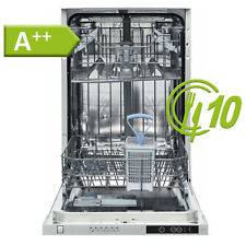 Geschirrspüler A++ Spülmaschine 45 cm Einbau Spüler vollintegriert Aqua Stopp