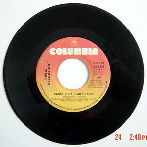 ONE-1976-039-S-45-R-P-M-RECORD-TINA-CHARLES-DANCE-LITTLE-LADY-DANCE-HEY-BOY