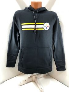 newest f6acd 18896 Details about Pittsburgh Steelers NFL Combine Authentic Under Armour Hooded  Sweatshirt Small