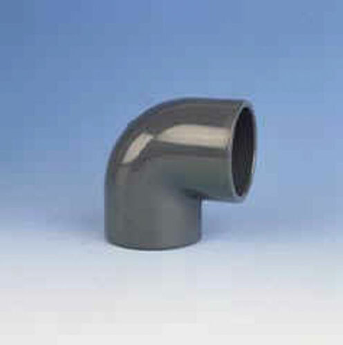 2 x Klebemuffe PVC Winkel 90° d =  20 mm