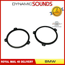 "BMW 3 Series E46 1999-2006 6.5/"" 165mm 17cm Front Doors Car Speaker Adaptor Rings"