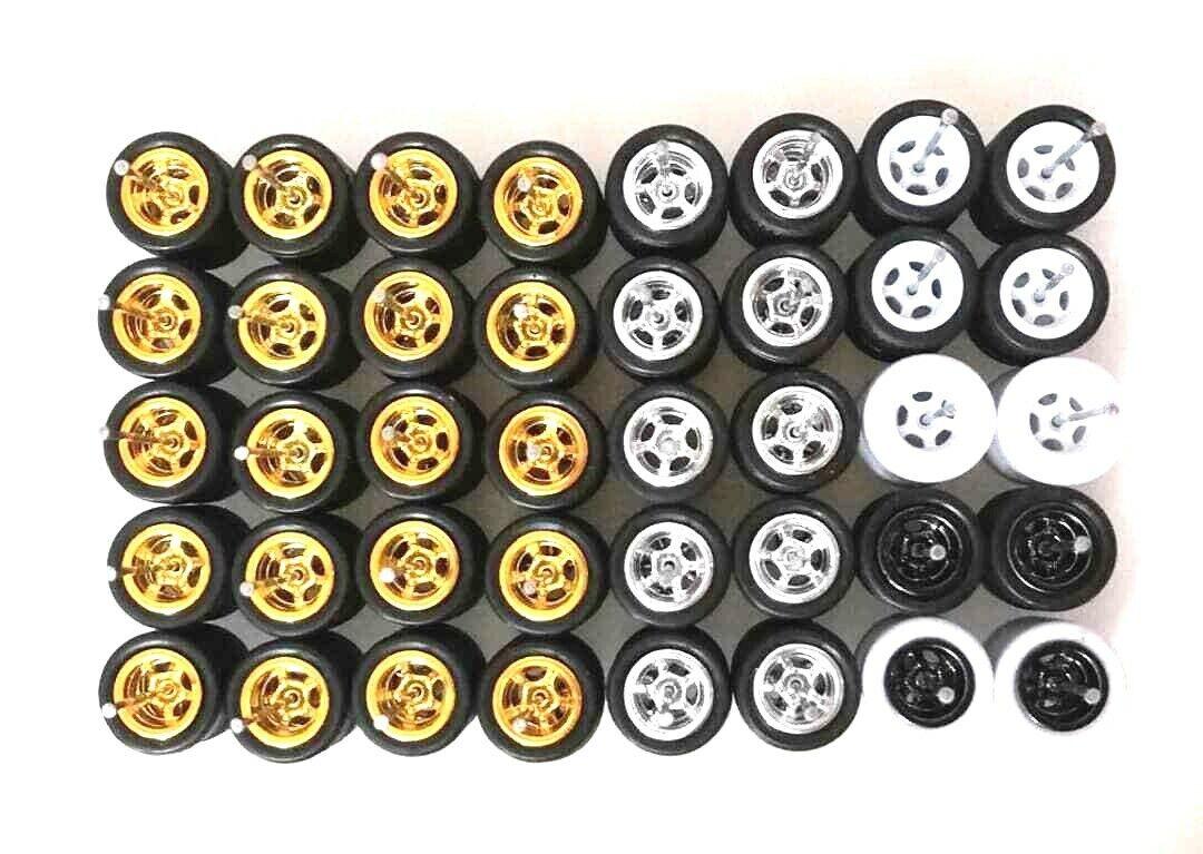 vendiendo bien en todo el mundo Hot Wheels 5 5 5 habló neumático de goma - 20 Juegos JDM (mezcla 4 Colors) Limited Stock   las mejores marcas venden barato