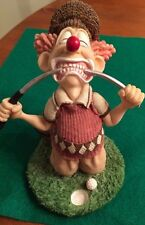 "Frustrated Golfer Figurine Comic Golfer-5"" Tall-SHIPS FREE"