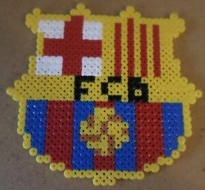 Espagne fc barcelone perles repasser ebay - Logo barcelone foot ...