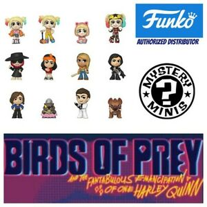 Funko Pop Mystery Minis Birds Of Prey In Stock Select From Drop Down Menu Ebay