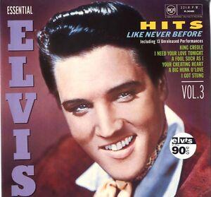 AS-NEW-Elvis-Presley-CD-Essential-Elvis-Volume-3-Hits-Like-Never-Before