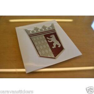 tabbert resin domed caravan crest sticker decal. Black Bedroom Furniture Sets. Home Design Ideas