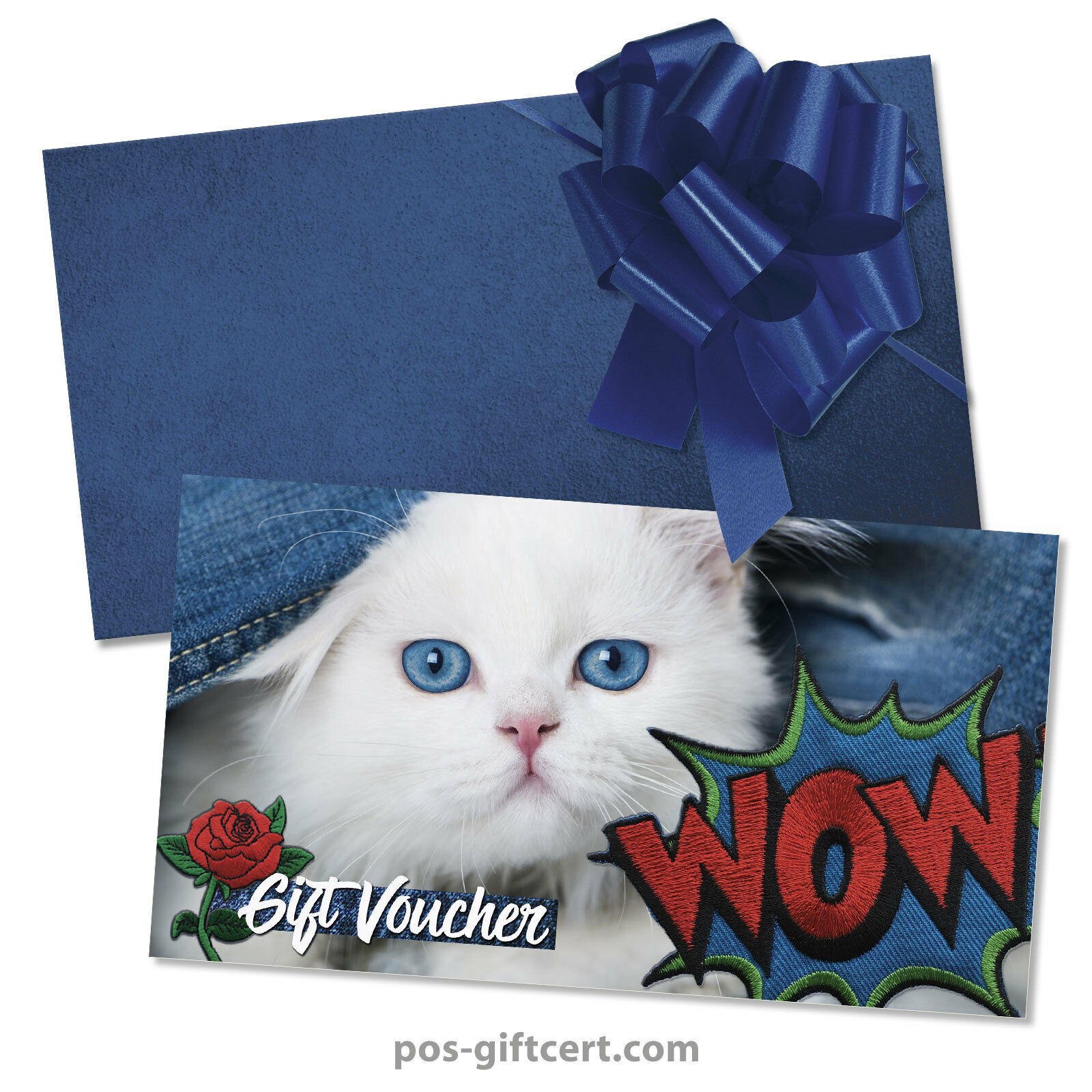 Gift vouchers  envelopes  pull bows for fashion boutique jeans FA1261GB | Große Auswahl  | Quality First