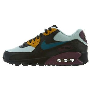 Details about WOMENS NIKE AIR MAX 90 325213 058 BORDEAUX TEAL BLACK RUNNING RETRO NEW AM90 OG