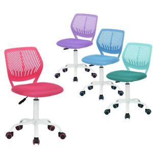 Back-To-School-Student-Mesh-Chair-Children-Computer-Desk-Study-Swivel-Chair