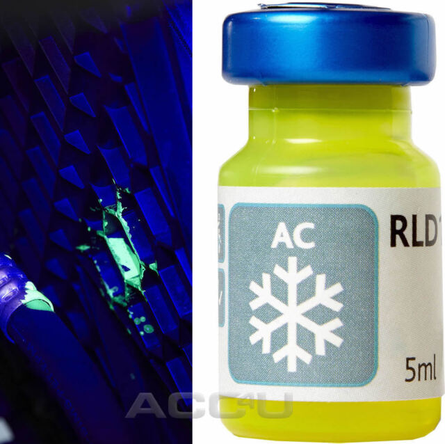 Ring RLD1 Car AC Air Conditioning System Ultra Violet UV Leak Detection Dye 5ml
