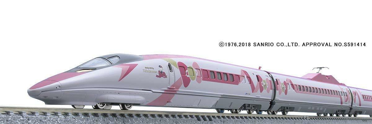 TOMYTEC TOMIX N gauge JR 500 7000 series Sanyo Shinkansen Hello Kitty Japan