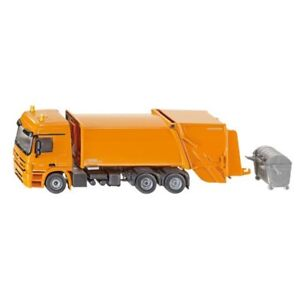 Rechazar-camion-Siku-2938-150-2938-Camion-Mercedes-Actros-de-basura-nuevo-escala