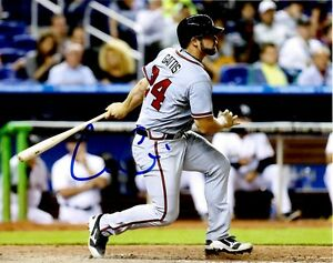 Signed-8x10-EVAN-GATTIS-Atlanta-Braves-Photo-COA