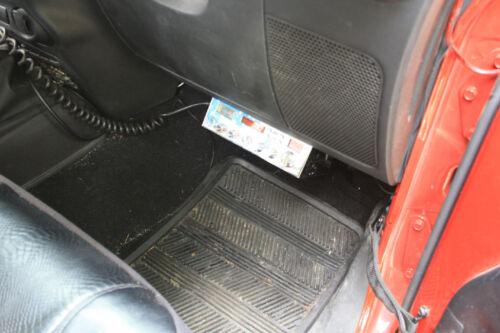 for 2007-2018 Jeep JK CB Radio Mounting Bolts 2 JL Wrangler Under Glove Box